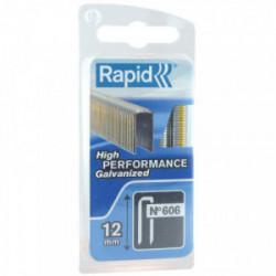 Agrafe n°606 - 12 mm par 1200 de marque RAPID, référence: B3706500