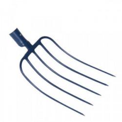 Fourche fumier à douille 5 dents 29 cm sans manche de marque PERRIN  , référence: J3877800