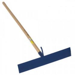 Racloir bitume à crochet 50cm standard bleu emmanché 1,30 m de marque PERRIN  , référence: B3885200
