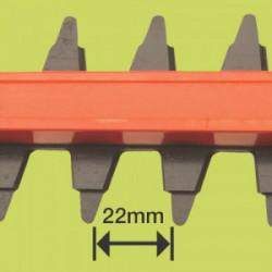Taille-haies électrique EasiCut 600XT - 500 W- lame 60 cm - FLYMO