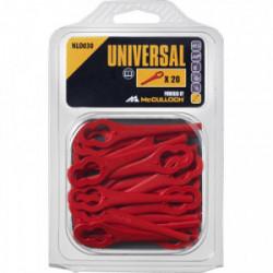 Lames plastiques pour coupe-bordures sans fil Bosch - NLO030 de marque UNIVERSAL, référence: J3913800