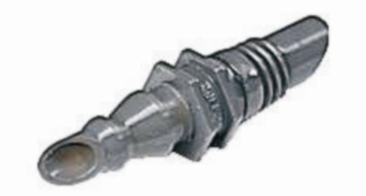 Jonction droite 4,6 mm - Par 10 - connexion \
