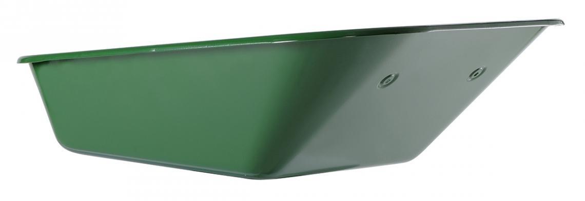 Caisse de brouette peinte verte 100 L - 6 trous