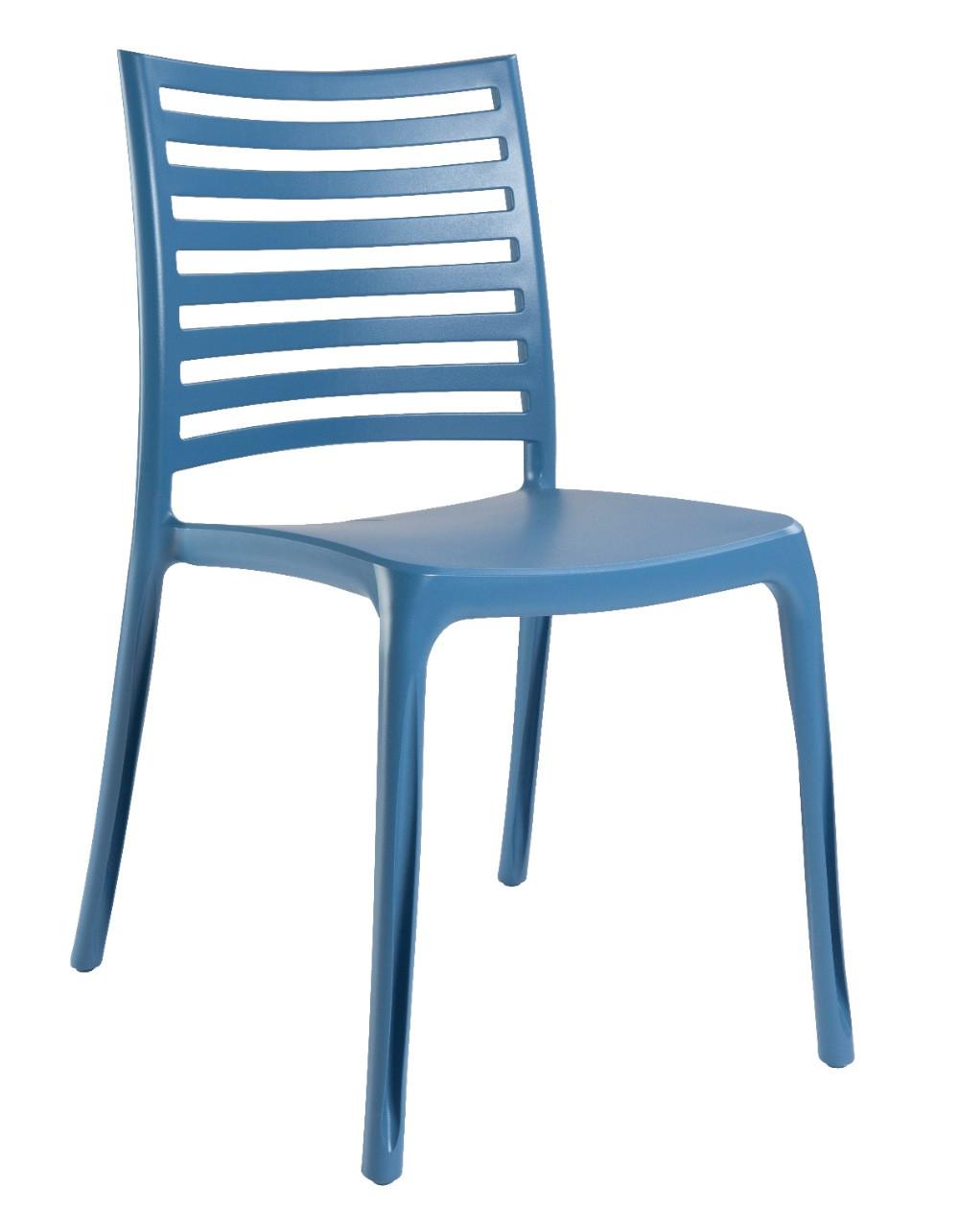 Grosfillex Lot de 4 chaises de jardin \