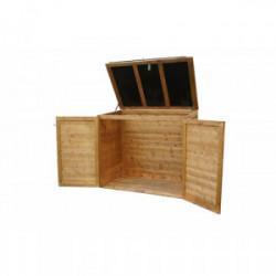 """Coffre de rangement multifonctions """"Trocadéro"""" 1350L de marque CHALET & JARDIN, référence: J3955700"""