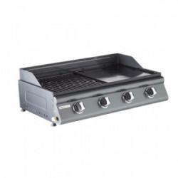 Barbecue à gaz à poser mixte LAS PALMAS de marque COOK'IN GARDEN, référence: J3961900