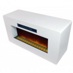 """Meuble TV avec cheminée électrique """"Meribel"""" de marque CHEMIN'ARTE, référence: B3982900"""