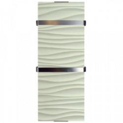 Radiateur sèche serviette Ondulation 1200W de marque CHEMIN'ARTE, référence: B3983800