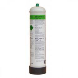 Bouteille de gaz Argon+CO2 1L pour MIG de marque DECA , référence: B3991800