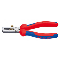Pince à dénuder 160 mm poignées bi-matière de marque KNIPEX , référence: B3992600