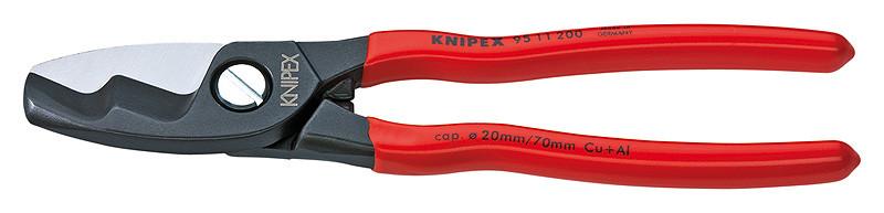 Coupe câbles électriques 200 mm double tranchant