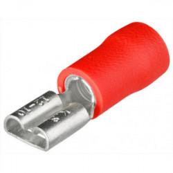 Cosse femelle plate rouge - 0,5 à 1 mm² de marque KNIPEX , référence: B3998800