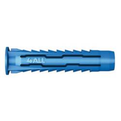 Chevilles nylon multifonctions Ø 6x30 mm - 100 pièces de marque RAWL, référence: B4010200