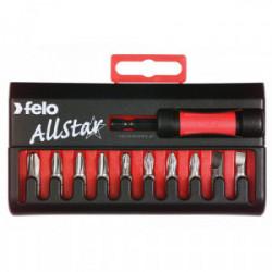 Porte-embouts avec son jeu de 10 embouts de marque Felo, référence: B4013000