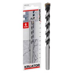 Mèche carbure béton Ø 16x150mm de marque Kreator, référence: B4019100