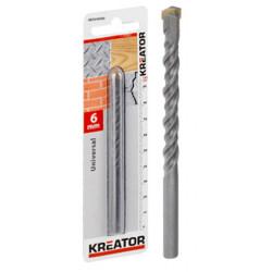 Foret polyvalent Ø 5x85mm de marque Kreator, référence: B4020500