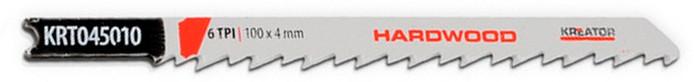Lame de scie sauteuse à bois dur en U (pas 4mm - 100mm) - 2 pièces