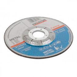 Disques à tronçonner - métaux - Ø 115 x 2,5 mm - 6 pièces de marque Kreator, référence: B4036900
