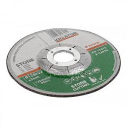 Disques à tronçonner - pierre - Ø 115 x 2,5 mm - 6 pièces de marque Kreator, référence: B4037300