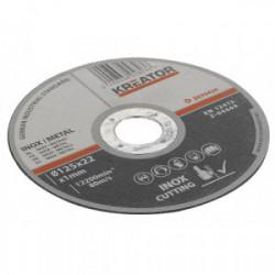 Disques à tronçonner - inox - Ø 115 x 1 mm - 6 pièces de marque Kreator, référence: B4038000