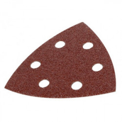 Lot de 5 patins triangulaires auto-agrippants - grain 40 - 90x90x90 mm de marque Kreator, référence: B4045900