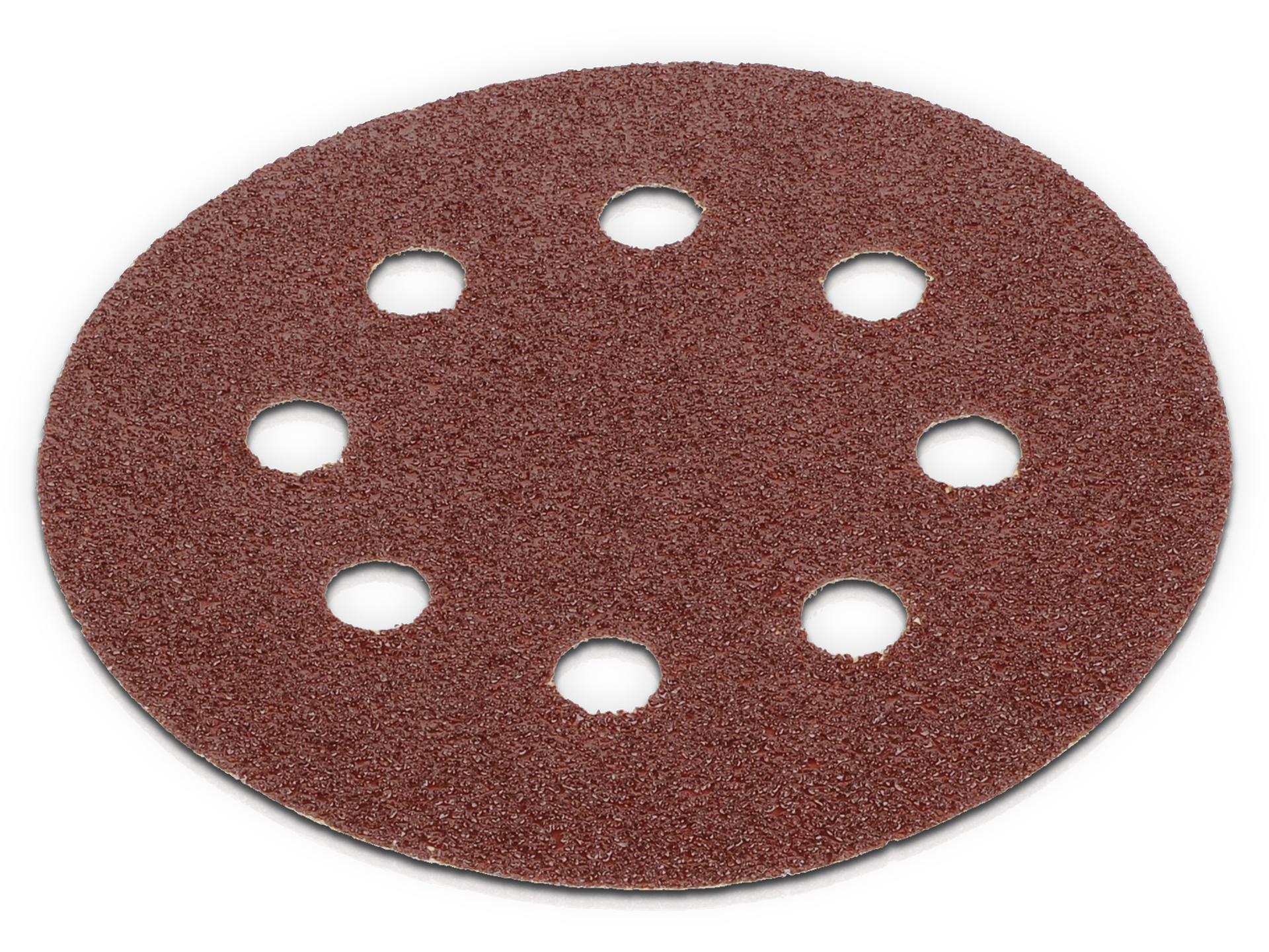 Lot de 5 disques auto-aggripants - grain 60 - Ø 115 mm