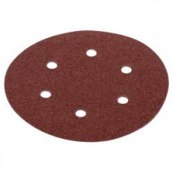 Lot de 5 disques auto-aggripants - grain 100 -Ø 225 mm de marque Kreator, référence: B4049600
