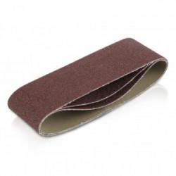 Lot de 3 bandes de ponçage - grain 60 - 75 x 508 mm de marque Kreator, référence: B4051100