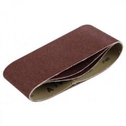 Lot de 3 bandes de ponçage - grain 80 - 100 x 610 mm de marque Kreator, référence: B4052700