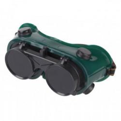 Lunettes de protection de soudeur 2 écrans de marque Kreator, référence: B4056500