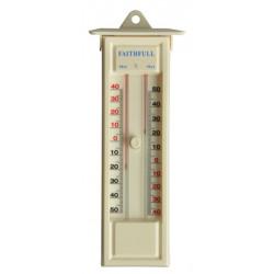 Thermomètre d'intérieur et d'extérieur avec mémoire de marque FAITHFULL, référence: J4058900