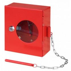 Boitier de sécurité vitré avec brise glace 16x14x6 cm de marque OUTIFRANCE , référence: B4063500