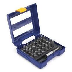 Coffret porte-embouts 31 pièces (Pz/Ph/Torx/Hex/Plat) 25 mm de marque Irwin, référence: B4097600