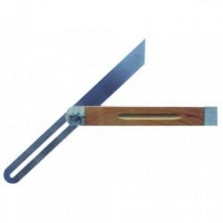 Fausse équerre - lame acier talon bois de marque OUTIFRANCE , référence: B4104800