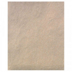 Papier silex 23x28 cm gr.60  - Lot de 4 feuilles de marque OUTIFRANCE , référence: B4111000