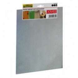 Papier anti-encrassant 23x28 cm gr.180 - Lot de 4 feuilles de marque OUTIFRANCE , référence: B4112000