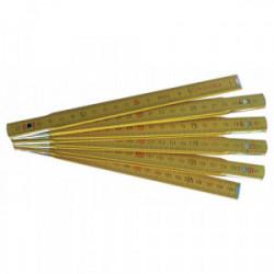 Mesure pliante en bois 2 m de marque OUTIFRANCE , référence: B4114000