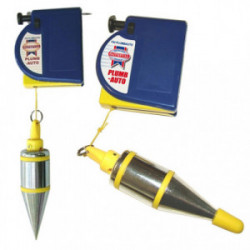 Plomb conique automatique 400 g avec enrouleur de marque FAITHFULL, référence: B4114700