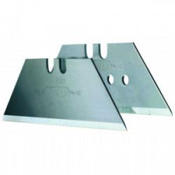 Lot de 5 lames trapèze longues non perforées 62 mm de marque STANLEY, référence: B4125100
