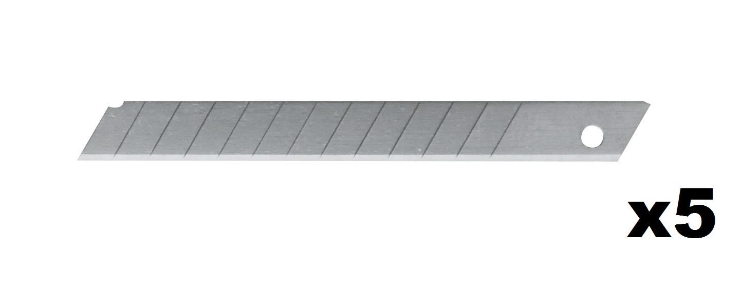Distributeur de 5 lames de cutter 9,5 mm