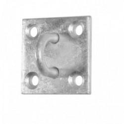 Crochet fermé sur platine de marque FAITHFULL, référence: B4138100