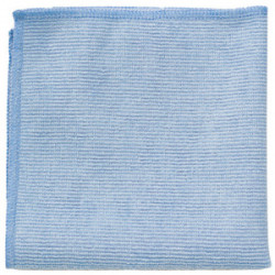 Microfibre professionnelle bleue 40x40 cm de marque RUBBERMAID, référence: B4161000