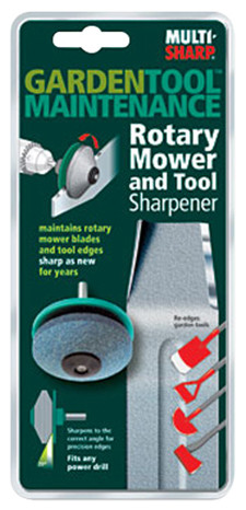 Affûteur rotatif pour outils de jardin
