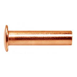 Rivets pleins en cuivre Ø 5x20 - 25 pièces de marque TECHMAN, référence: B4167600