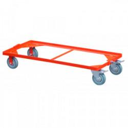Chariot pour coffre de chantier 1x0,5 m de marque OUTIFRANCE , référence: B4176000