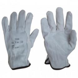 Gants de manutention tout cuir de marque OUTIFRANCE , référence: B4188400