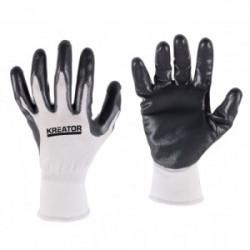 Gants de protection pour industrie légère de marque Kreator, référence: B4191800