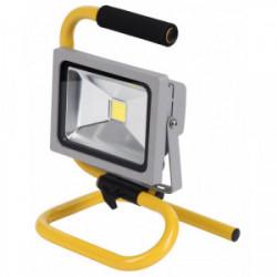 Projecteur à LED sur cadre 20 W de marque POWERPLUS, référence: B4198300