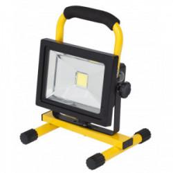 Projecteur à LED sur cadre rechargeable 20 W de marque POWERPLUS, référence: B4198400