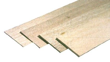 Planche balsa épaisseur 1.0 x100x1000 mm